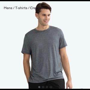 Bombas Merino Short Sleeve Crew Neck T Shirt  Sz M